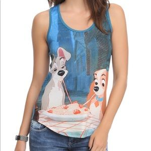 Disney Lady and the Tramp Racerback Tank Top